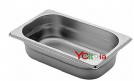 bacinelle 1/4 gn gastronorm acciaio inox 18/10 aisi 304 h20