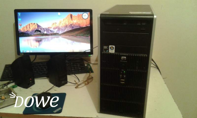 Vendita pc marca hp dual core windows 7