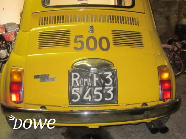 Vendita a roma motori in vendita fiat 500 d 39 epoca for Cianografie d epoca in vendita