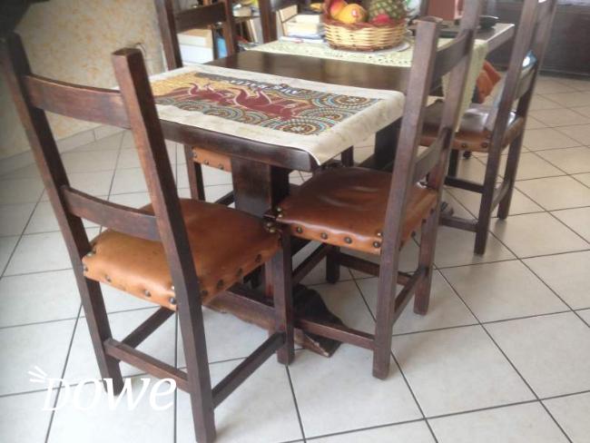 Sedie In Legno Arte Povera.Vendita A Rimini Casa E Persona In Vendita Tavolo Legno