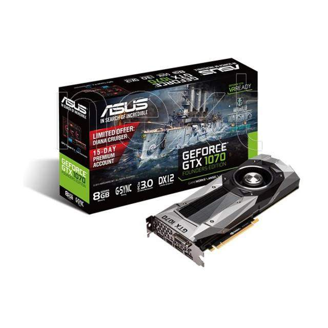 Vendita  asus geforce gtx 1070 founders edition 8192mb gddr5