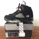 nike air jordan 5 v metallic sz 44 (10 us) vnds
