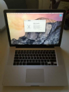 macbook pro 15 2011 i7 2.2ghz 8gb ram 1tb hdd