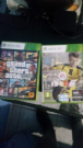 xbox 360 250 gb (originale) + fifa 17 e gta 5 + red dead redempation