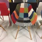 sedia patchwork charles & ray eames